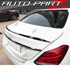 Lackierte Schwarz Spoiler Heckspoiler für Mercedes Benz C Kl. W205 C63 AMG Limo
