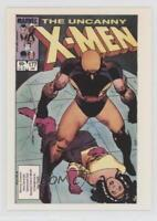 1990 Comic Images Covers Series 2 #1 The Uncanny X-Men #177 Non-Sports Card 0c4