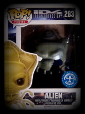 Independence Day-Alien-Vinyl Figurine-Limited White Eyes Edition-Funko Pop!