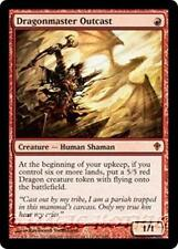 DRAGONMASTER OUTCAST Worldwake MTG Red Creature—Human Shaman Dragon MYTHIC RARE