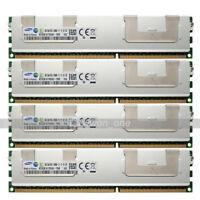 Samsung 32GB (4x8GB) 2RX4 PC3L-12800R DDR3-1600MHz 240Pin ECC REG Server Memory