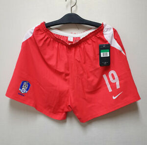 2004-05 South Korea Away shorts No.19 AHN Jung-Hwan Player Issue 2004 Asia Cup