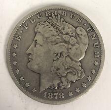 1878 CC Morgan Silver Dollar Carson City Coin