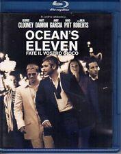 Blu-ray OCEAN'S ELEVEN FATE IL VOSTRO GIOCO