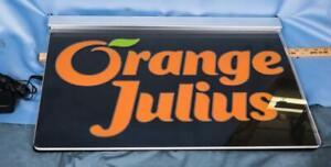 Orange Julius Promotional LED Ceiling Sign dq