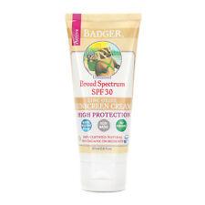 Badger Broad Spectrum Sunscreen Unscented SPF 30