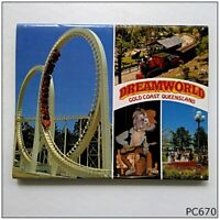 Dreamworld Gold Coast Queensland View Folder Postcard (P670)