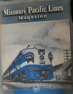 RAILROAD MAGAZINE MISSOURI PACIFIC LINES MAGAZINE AUG 1950