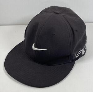 NIKE GOLF Flexfit Cap Sports  Black Mesh Back RZN VAPOR SIZE M/L