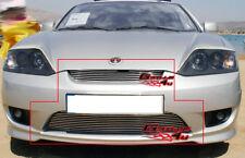Fits 2005-2006 Hyundai Tiburon Billet Grille Combo