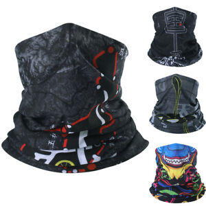UV Protection Face Mask Neck Gaiter Scarf Breathable Bandana for Outdoor Sports