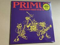 Primus ‎– Stanford University Broadcast May 3rd, 1989 vinyl lp ltd 300 colour
