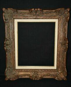 Magnifique cadre en bois sculpté XIX e  Tableau- qualité Style XVIIIe s