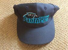 Vintage NFL Carolina Panthers Snapback Hat 90s NWT Black