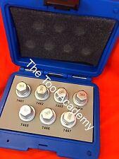 Tuerca De Bloqueo La Rueda Eliminación Socket Set Tool Kit Para Opel D Estilo 7461-7467