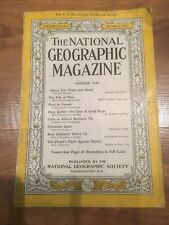 National Geographic Magazine August 1942