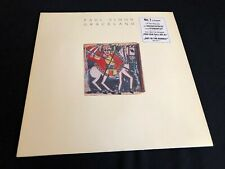 "PAUL SIMON ""GRACELAND"" VINYL RECORD/LP FROM 1986"