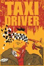 Taxi Driver Minimalist Movie Poster 12x18 Inch