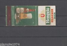 Hengelo Pilsener Bier Matchbox Labels/Lucifer-Etiketten