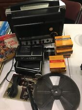 Gaf Super 8 Sound Movie Projector 3000 S And had ss805 and accessories