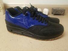 Nike Air Max 1 One Vt Qs Blue Patent Leather Gum Sole Size 8.5 Jordan Yeezy