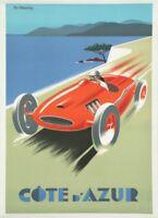 A3 A2 The Cornish RivieraCornwallGWR Vintage PosterA1