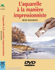 DVD - L'aquarelle à la manière impressionniste