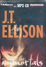 Audio book - The Immortals…by J. T. Ellison     -     MP3-CD