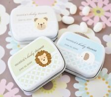 24 Personalized Baby Animal Mint Tins Shower Favors
