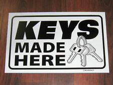 General Business Sign: Keys Made Here