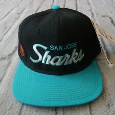 Vintage New San Jose Sharks Hat Cap by Sports Specialties