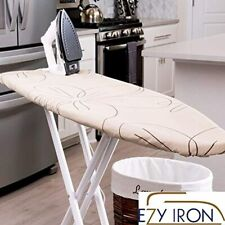 Padded Ironing Board Cover Heat Reflective Thick Padding Heavy Duty Pad Beige