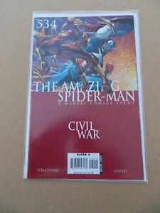 Amazing Spider-Man 534 . Civil War . Marvel 2006 . VF