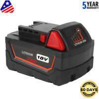 New For Milwaukee 48-11-1890 M18 18Volt Lithium 6.0Ah High Capacity Battery Tool