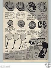 1960 PAPER AD Alvin Al Dark Don Larson No Hitter Rocky Colavito Baseball Glove