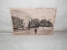 aa Vecchia cartolina foto d epoca di firenze 1835 palazzo parco alberi bici