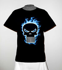 "NEW MARVEL COMICS ""THE PUNISHER"" SKULL T-SHIRT MD *L@@K*  THE PUNISHER   NWT"
