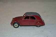 Dinky Toys 24T Citroen 2CV in excellent plus al original good condition Superb