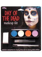 Día de los muertos Ghost Girl Maquillaje Kit facepaint Halloween Disfraz Accesorio