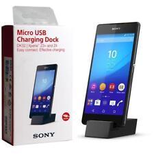 Sony DK52 MICRO USB Station de recharge pour Xperia XA Z3 Z5 Plus - Noir
