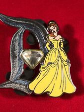 1 Disney Pin 3D Limited Edition Belle Jeweled Stylized D lot H