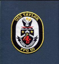 FFG-50 USS TAYLOR USN US NAVY Frigate Ship Squadron Jacket Patch