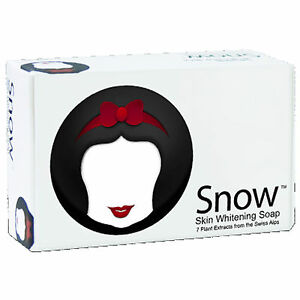 Snow Skin Whitening Lightening Soap 7 Plant Extracts Swiss Alps by Snow Caps