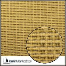 Wheat grill cloth -replacement for Fender amps 18in x 36in