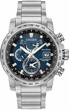 Citizen World Time A-t Perpetual Mens Watch At9070-51l