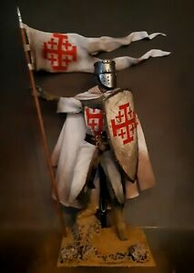 "12"" CUSTOM MEDIEVAL KNIGHT OF THE ORDER OF THE HOLY SEPULCHRE 1/6 FIGURE IGNITE"