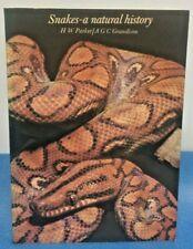More details for snakes a natural history h w parker / a g c grandison 1977 vintage snake book