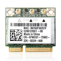 Dell Alienware M14X M18X Bigfoot networks Killer 1103 7WCGT AR5BHB112 WIFI CARD