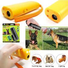 Trainer Repeller Ultrasonic Control Device LED Stop Barking Train Dog Anti Bark