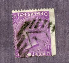 GREAT BRITAIN-- Individual Stamp Scott #51a Plate 8  Cat. Val. 135.00